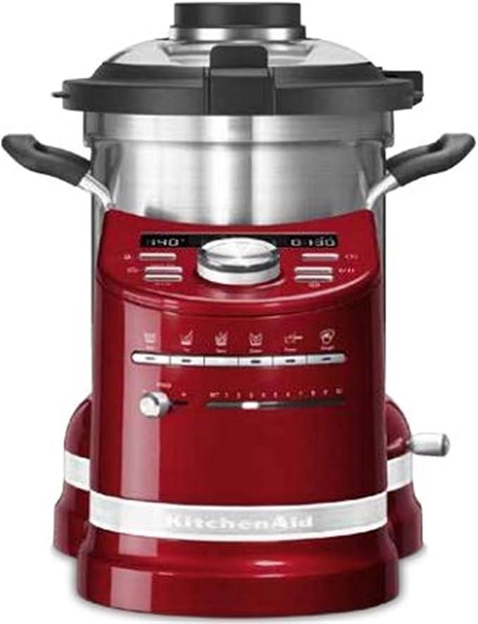 Kitchenaid robot cocina aritsan 5kcf0104eca rojo: Amazon.es: Electrónica