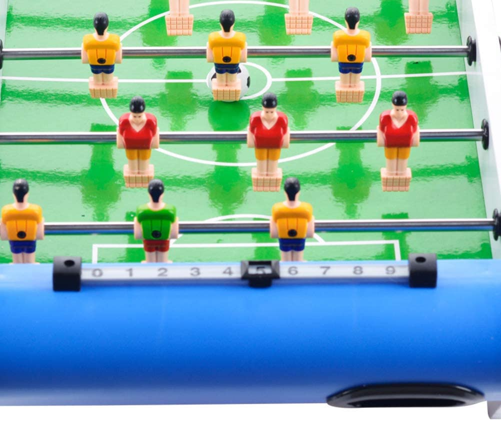 Toyvian Foosball Table Mini Tabletop Sports Arcade Soccer Juego de ...
