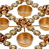 Beautiful Diya Christmas Rangoli Decorations & Puja -Perfect for Everyday Decor- Lovely Gift Idea for Any Occasion