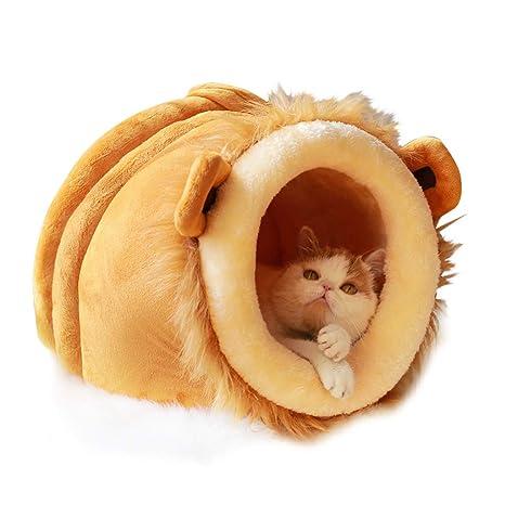WANGXIAOLIN Cama De Gato, Cama para Perro, Cama Cerrada para Mascotas, Adecuada para