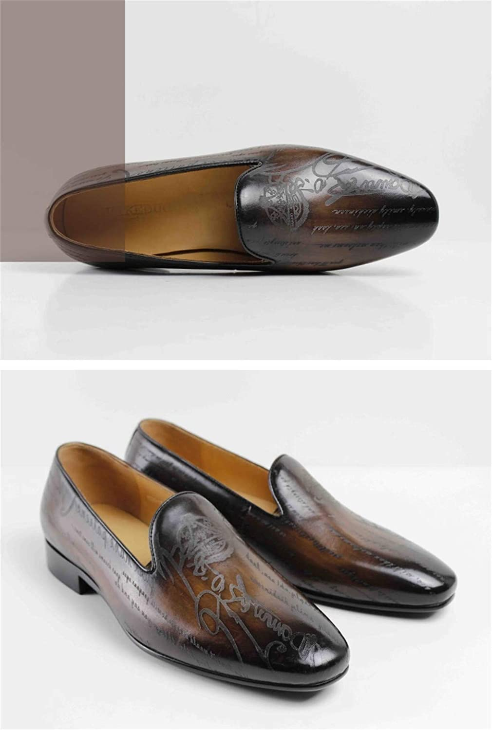 Stylish Mens Simple Shoes Non-Slip wear-Resistant Outdoor Loafers Wedding Party