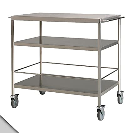 Exceptionnel IKEA   FLYTTA Kitchen Cart, Stainless Steel H:38u0026quot;