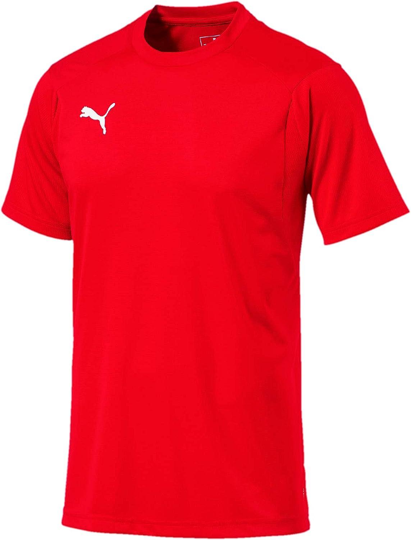 PUMA Liga Training Jersey Camiseta de Manga Corta Hombre