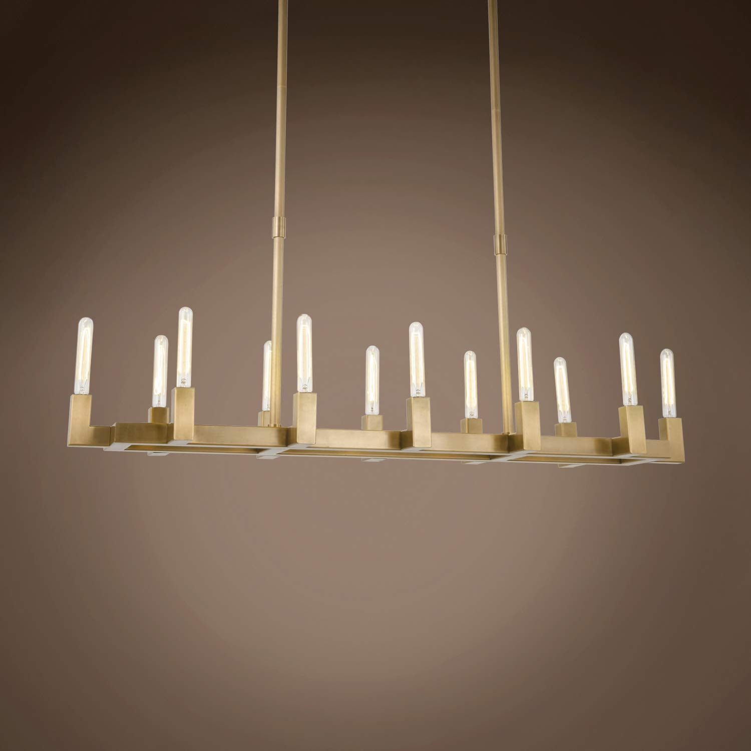Amazon.com: Beaux Contemporary 12 Light 54