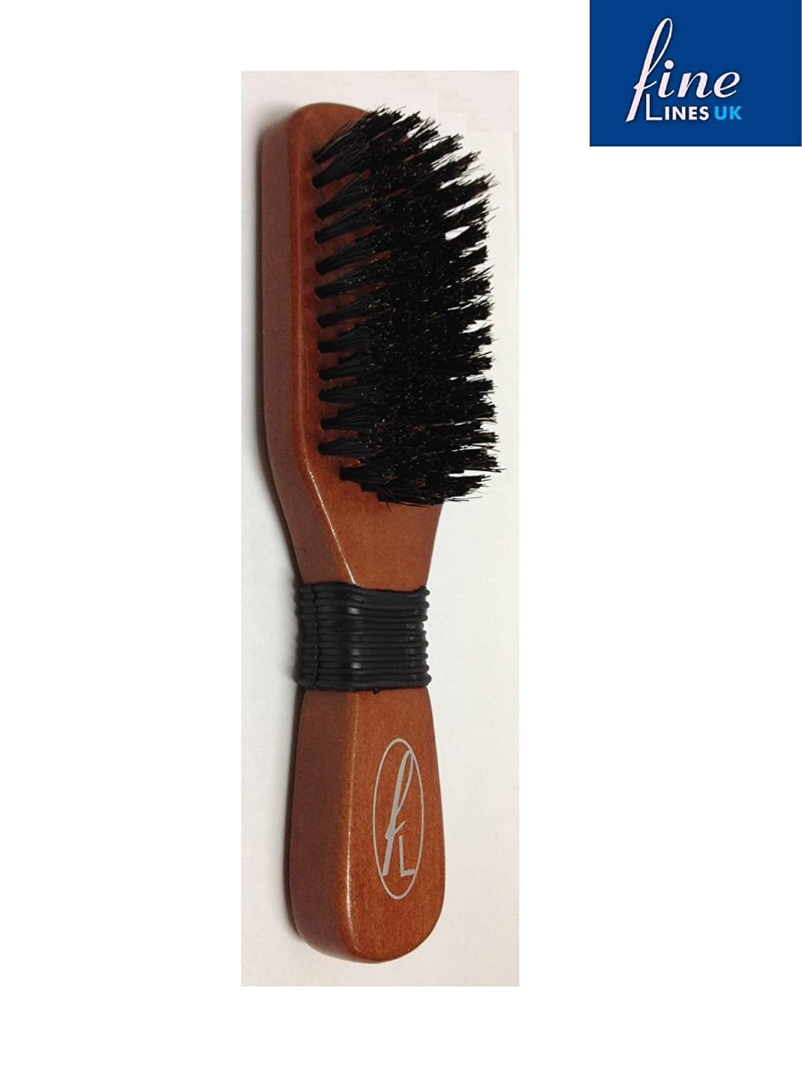 Professional Hard Bristle Paddle Hair Brush Fine Lines 802-10