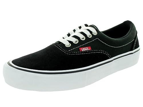 bcbd6cb379 Vans Men s Era Pro Shoes Black White Gum 9.5 B(M) US Women   8 D(M ...