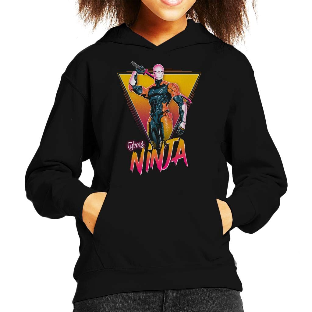 Metal Gear Solid Cyborg Ninja Kids Hooded Sweatshirt ...