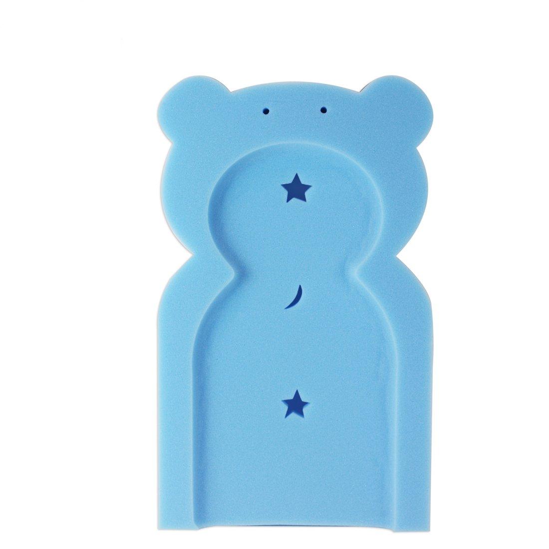 First Steps Baby Bath Time Bath Tub Support Sponge in Teddy Bear ...