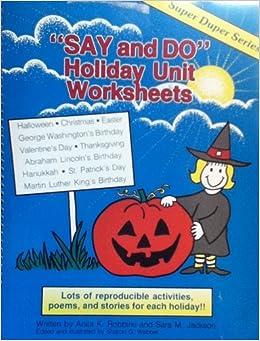 Super Duper Say and Do Language Worksheets - 2 Book Set- Speech ...