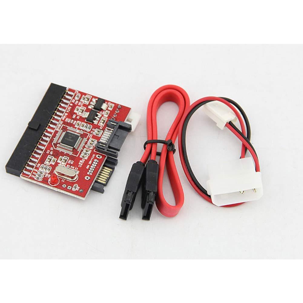 ZYCX123 Accesorios para el Ordenador Producto de Alta tecnolog/ía de Disco Duro IDE a SATA Adaptador de Red 1 PC
