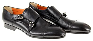 Upton Double Monk Strap Shoes Size 13 D Black New