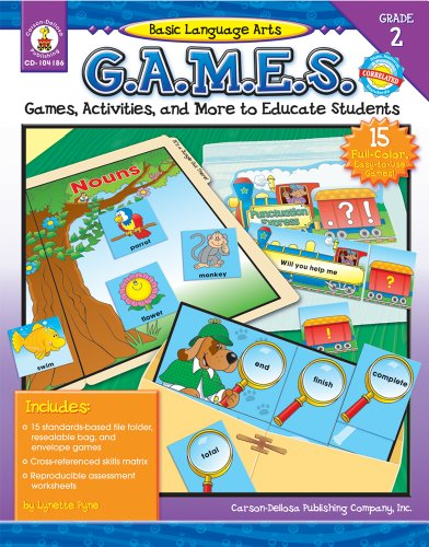 Basic Language Arts G.A.M.E.S., Grade 2: Games, Activities, and More to Educate Students (Basic Language Arts Games)