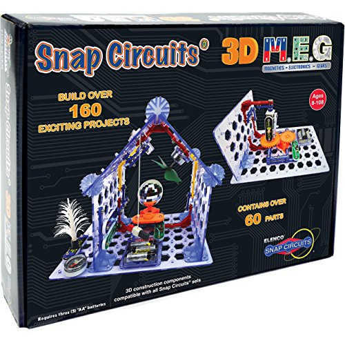 Snap Circuits - 3D M.E.G. Electronics Discovery Kit -
