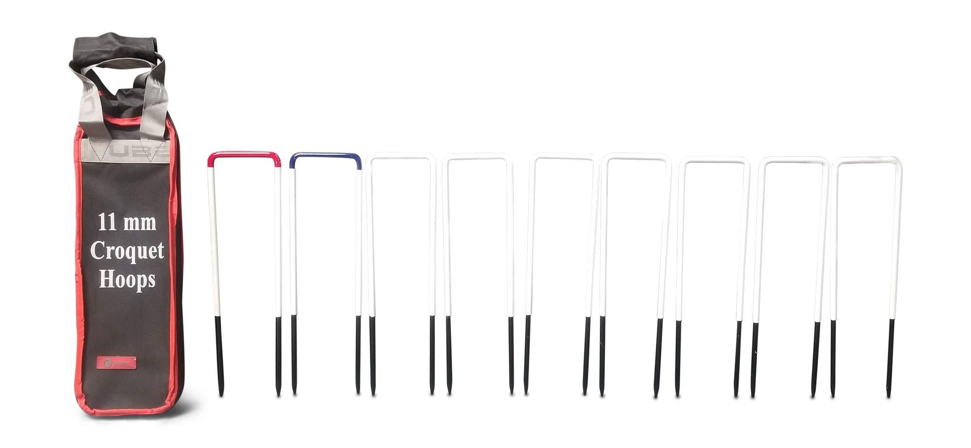 Uber Games 9 Wicket Steel Croquet Hoops