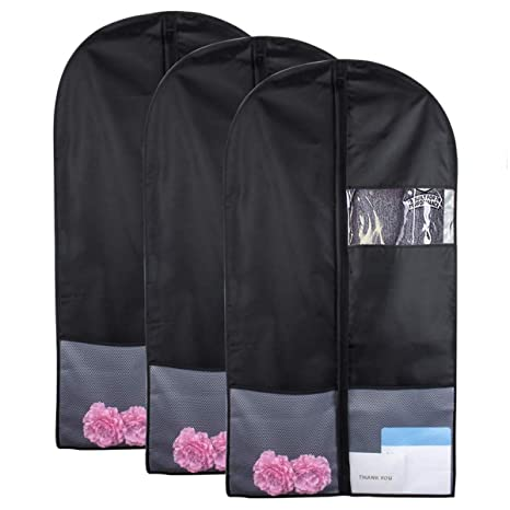 ea2ac2065efe Amazon.com: Clothing Covers - Garment Bag With Pockets 43 Inch Bags ...