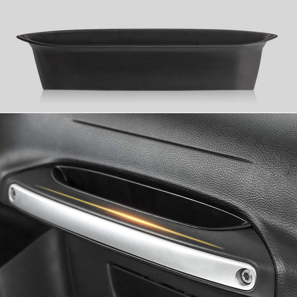 Black Interior Accessories for Jeep JL Organizer Grab Tray Passenger Storage for Jeep Wrangler Accessories Jeep Wrangler JL JLU 2011-2018 Jeep Gladiator Accessories