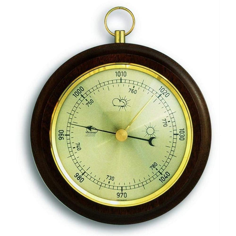 Dial Barometer with Walnut Surround TFA J2