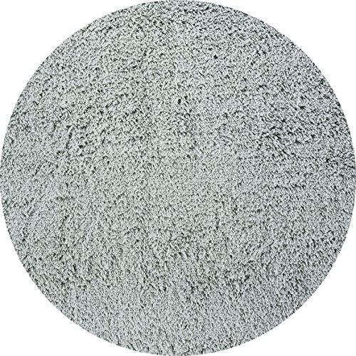 - Momeni Rugs CSHAGCS-10MTG400R Comfort Shag Collection, High Pile Area Rug, 4' Round, Mint Green