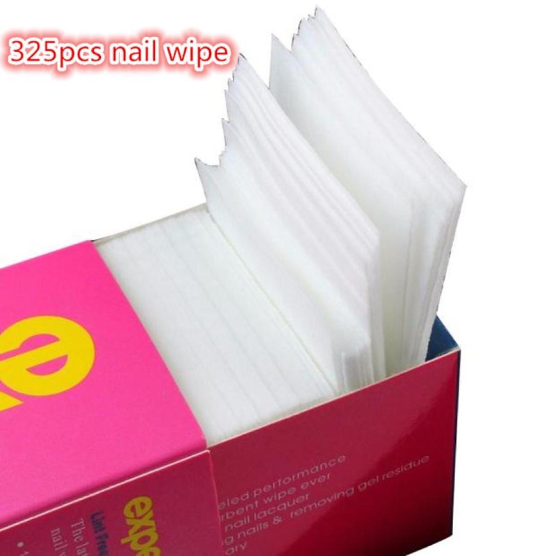 Dolloress Nail Tips⭐325pcs/Pack No-Lint Cotton Pad Nail Art Gel Polish Remover Nail Wipes