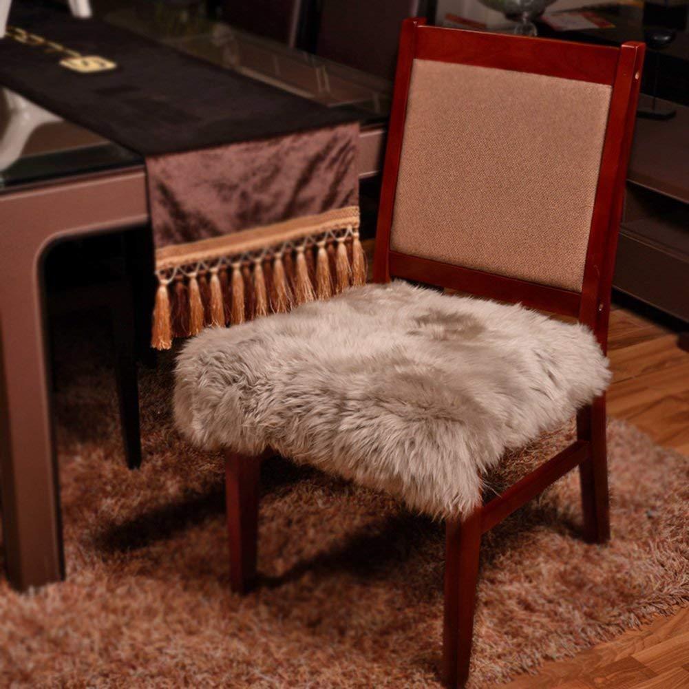 大型ミラー、[冬] [局]快適な座席の滑り止め厚いコンピュータの椅子の張りのための非常にふわふわのC 50X50Cm(20X20Cm) (色 : -, サイズ : -)   B07RPVFFV7