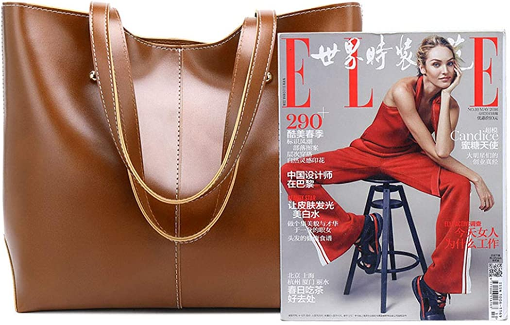 Fanspack Women Tote Bag Big Capacity Fashion Elegant Shoulder Bag Tote Handbag for Travel