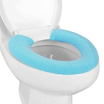 Turquoise Toilet Seat Cover. KLOUD City Soft and Warm Thicken Toilet Seats Covers  Blue Amazon com