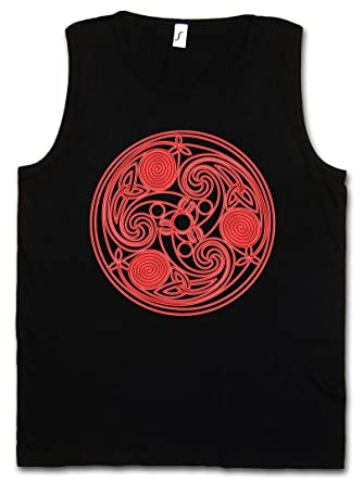Urban Backwoods Mandala IX Herren Tank Top Muscle Shirt – Celtic Kelten Yantra  Hinduism Buddhism Buddhismus