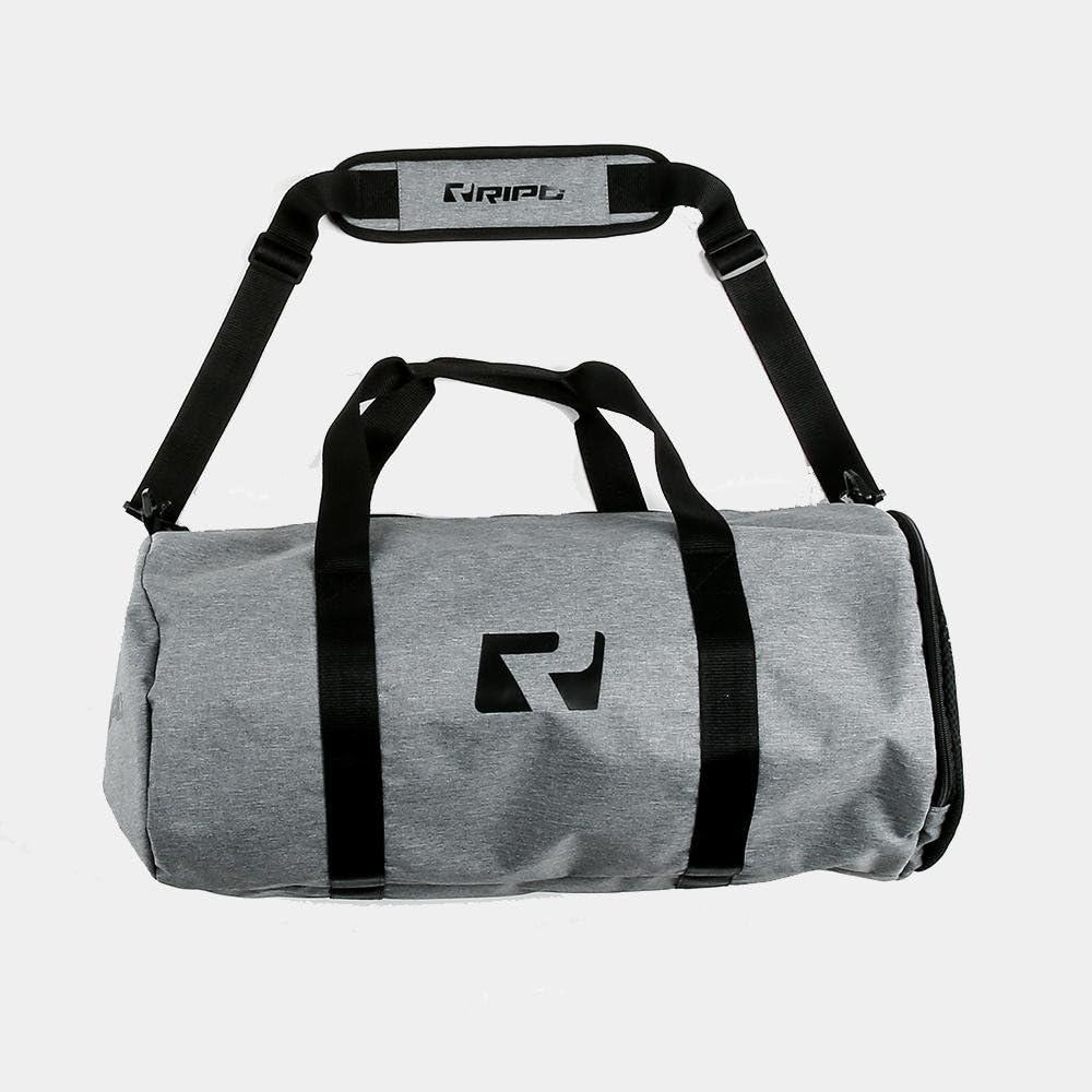 Grey Marl RIPT Barrel Gym Bag