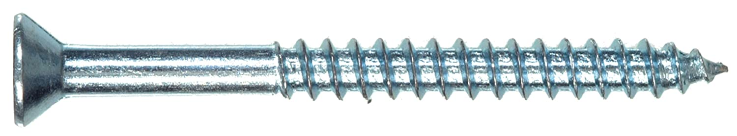 Zinc The Hillman Group 70963 6 X 1//2-Inch Flat Head Square Drive Wood Screw 100-Pack