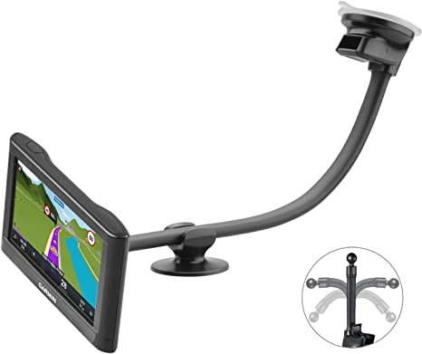 Car Cell Phone GPS Windshield Suction Cup Mount Holder for iPhone-TomTom-Garmin
