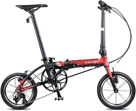Monociclos Bicicleta Plegable Bicicleta Unisex 14 Pulgadas ...