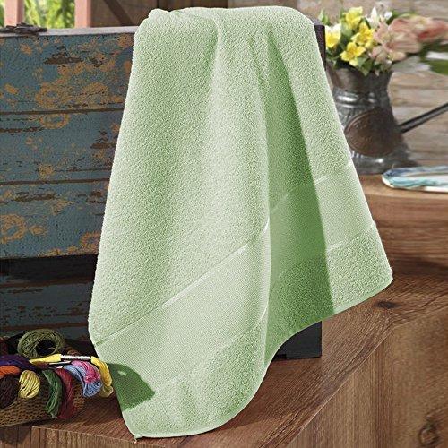 Toalha de banho para bordar firenze - dohler Verde