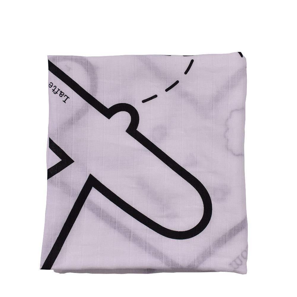 Deanyi Baby Milestone Blanket Teppich Monat Wachstum Rekord Weicher Zeichen Hintergrund Fotografie Prop vollkommenes Geschenk Mamma Kinder Foto Decke Baby Produkt