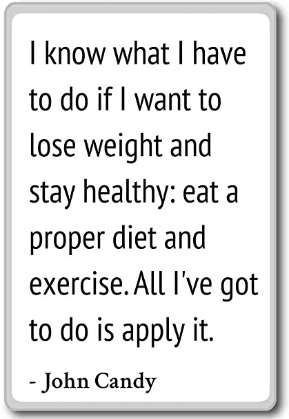 Amazoncom I Know What I Have To Do If I Want To Lose Weigh