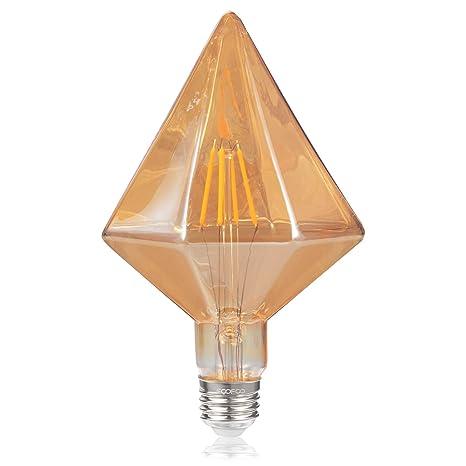 Amazon.com: Bombilla Edison de diamante, 4 W (40 W ...