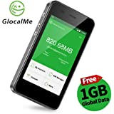 GlocalMe G3 4G LTE Mobile Hotspot, Worldwide High Speed WiFi Hotspot with Ca 8GB & Global 1GB Data for 30 Days, No SIM…
