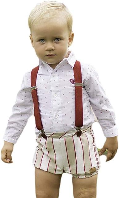 DOLCE PETIT - Camisa Y Short bebé-niños Color: Beige OSC ...
