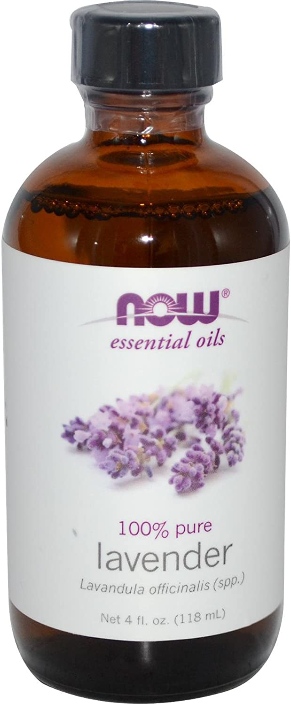 NOW Essential Oils - Lavender Oil - 4 fl. oz (118 ml) by NOW