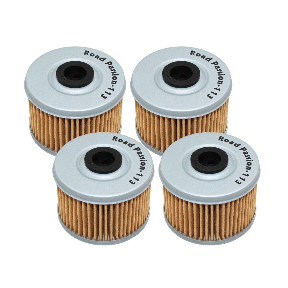 Road Passion Oil Filter for HONDA TRX450 FE FOREMAN ES 433 2002-2003 TRX450FE FOREMAN ES 450 2004(pack of 4)
