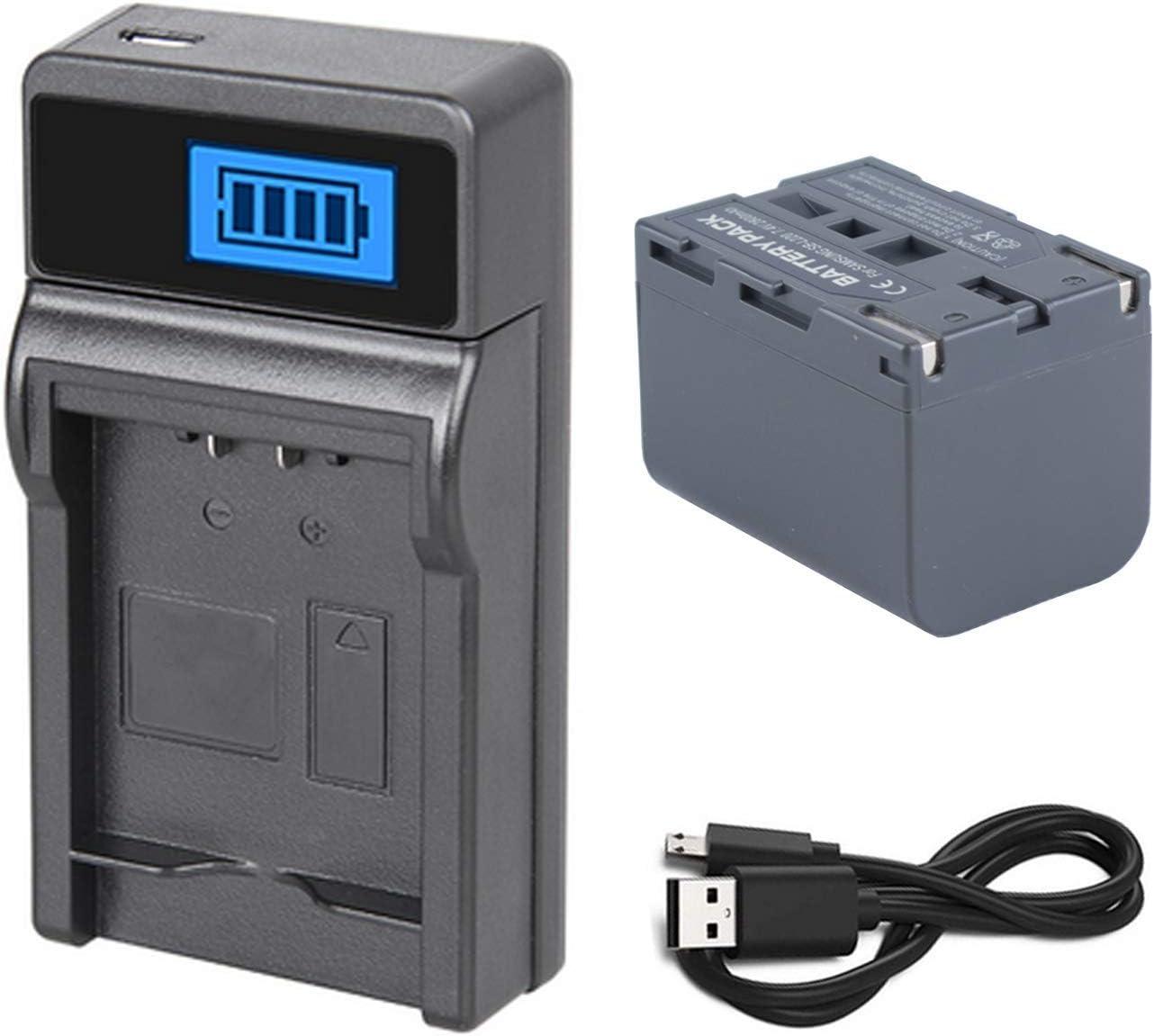 SC-D307 Digital Video Camcorder Charger for Samsung SC-D80 SC-D86 SC-D305 Battery Pack SC-D87 SC-D303