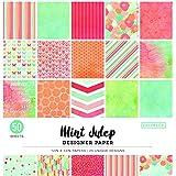 "ColorBok - Bloc de Papel de diseño, Menta (Mint Julip), 12"" x 12"", 1, 1"