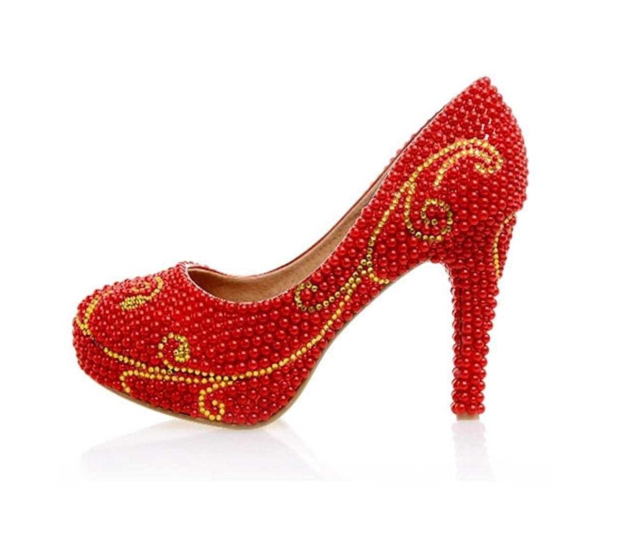 人気満点 [Minishion] レディース B0754X9R66 8.5 B(M) 8.5 B(M) US|Red-10cm Heel Red-10cm Heel Heel 8.5 B(M) US, JA道北なよろ:27c92bb3 --- a0267596.xsph.ru