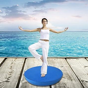 HYTGFR Estabilidad Balance Pad Yoga Mat Bloque de Espuma ...