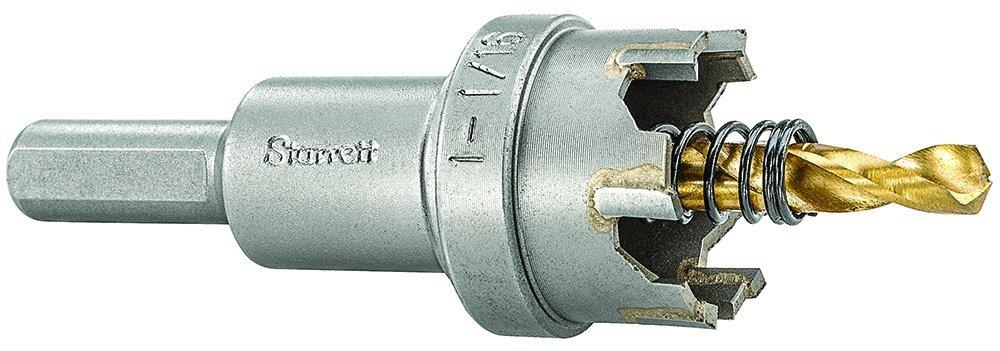 Starrett SM27 Metal Hole saw, Stainless Steel Sheet, 27 mm L.S. Starrett Company Ltd uk biss LSSA4