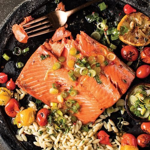 Omaha Steaks Salmon Fillets (Omaha Steaks 2 (6 oz.) Wild Salmon Fillets)
