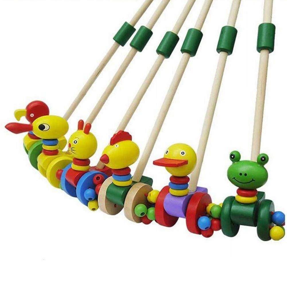 Wovemster Kids Educational Toy Putter Duck Cartoon Animal ...