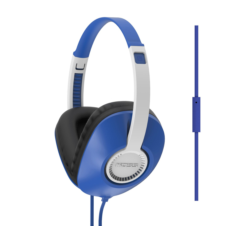 Auriculares Koss UR23i Aislamiento de ruido Over The Ear Full Size Blue
