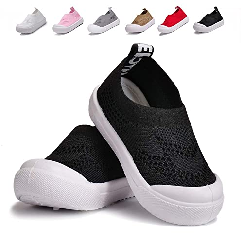 e7caf20a73c BiBeGoi Toddler Boys Girls Breathable Mesh Sneakers Lightweight Slip On  Walking Tennis Shoes Outdoor Knit Air Cushion (Little Kid/Baby)