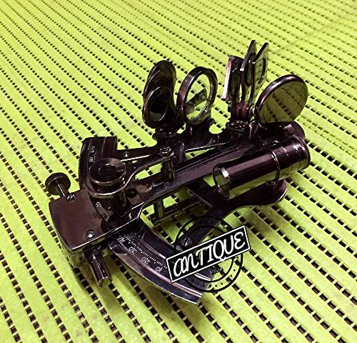 AV Miniature Model Brass Ship Sextant Steampunk Antique Decorative Gift Item