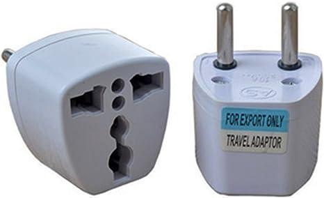 1 x Adaptador Enchufe Conversor corriente UK Inglés Europa UE Asia USA EEUU 2616: Amazon.es: Informática